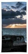 Light Behind The Darkness Beach Towel