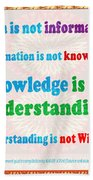 Management Wisdom Words Source Unknown Compliation By  Navinjoshi  Rights Managed Images For Downloa Beach Towel