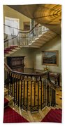 Mansion Stairway Beach Towel