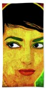 Maria Callas Beach Sheet