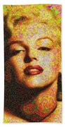 Marilyn Monroe - 100 Dollars Beach Towel