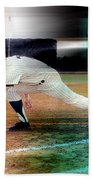 Mickey Mantle Beach Towel