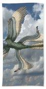 Microraptor Beach Towel
