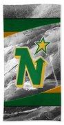 Minnesota North Stars Beach Towel
