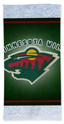 Minnesota Wild Beach Towel