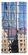 Mirror On The Wall Beach Towel by Heiko Koehrer-Wagner