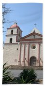 Mission Santa Barbara Beach Towel
