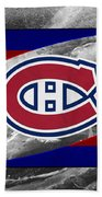 Montreal Canadiens Beach Towel