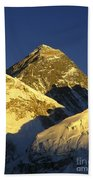 Mt Everest Beach Towel