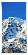 Mt Rainier Beach Towel