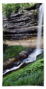Munising Falls Beach Towel