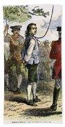 Nathan Hale (1755-1776) Beach Towel