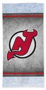 New Jersey Devils Beach Towel