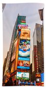 New York City - Times Square Beach Towel