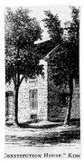 New York Senate, 1777 Beach Towel