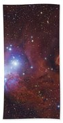 Ngc 2264, The Cone Nebula Region Beach Towel