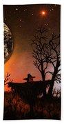 Night Of The Scarecrow  Beach Sheet