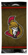 Ottawa Senators Beach Towel