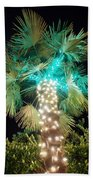 Outdoor Christmas Decorations Beach Towel