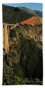 Pacific Coast Highway Beach Towel by Benjamin Yeager