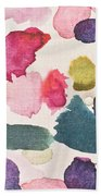 Paint Stains Beach Towel