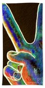 Peace Beach Towel