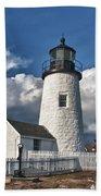 Pemaquid Point Lighthouse 4897 Beach Towel