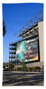 Philadelphia Eagles - Lincoln Financial Field Beach Towel