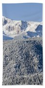 Pikes Peak Snow Beach Towel