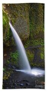 Ponytail Falls - Columbia River Gorge - Oregon Beach Towel