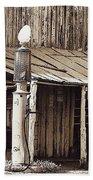 Post Office-gas Station Ghost Town Wagoner Arizona 1968 Beach Towel