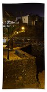 Puerto De La Cruz By Night Beach Towel