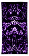Purple Series 1 Beach Towel