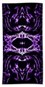 Purple Series 3 Beach Towel