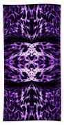 Purple Series 5 Beach Towel