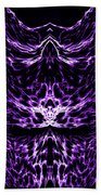 Purple Series 6 Beach Towel