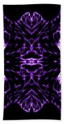 Purple Series 7 Beach Towel