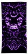 Purple Series 8 Beach Towel