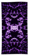Purple Series 9 Beach Towel