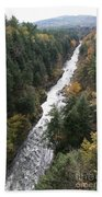 Quechee Gorge Beach Towel