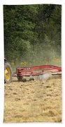 Raking Hay Beach Towel
