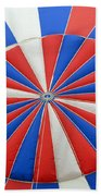 Red White And Balloon  Beach Towel