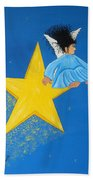 Ride A Shooting Star Beach Towel