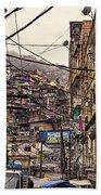 Rio De Janeiro Brazil - Favela Beach Towel