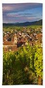 Riquewihr Alsace Beach Towel