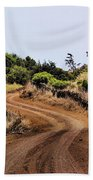 Road On Hierro Beach Towel