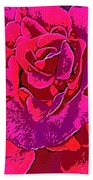 Rose 18 Beach Towel
