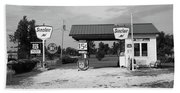 Route 66 Gas Station Beach Towel