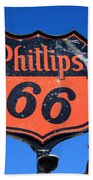 Route 66 - Phillips 66 Petroleum Beach Towel
