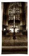 Saint Marks Episcopal Cathedral Beach Towel